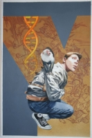 Y: THE LAST MAN #1 Cover Comic Art