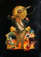 RAIDERS OF THE LOST ARK (Sanjulian) Comic Art