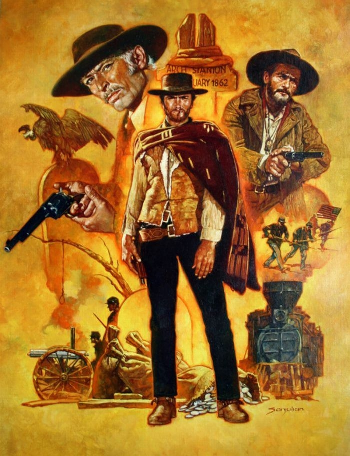 THE GOOD, THE BAD, AND THE UGLY (Sanjulian) Comic Art