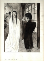 ILLUSTRATION FOR �LIGEIA� BY EDGAR ALLAN POE Comic Art