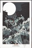 Eric Talbot TMNT print Comic Art
