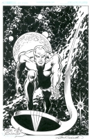 2013 Joe Sinnott Inking Challenge: Silver Surfer by Charles Barnett III Comic Art