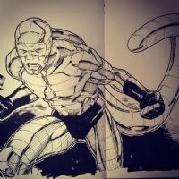 Scorpion Comic Art