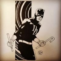 Daredevil   Comic Art