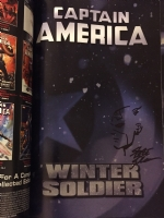 Winter Soldier TPB Comic Art