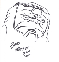 M.O.D.O.K. by Brad Walker Comic Art
