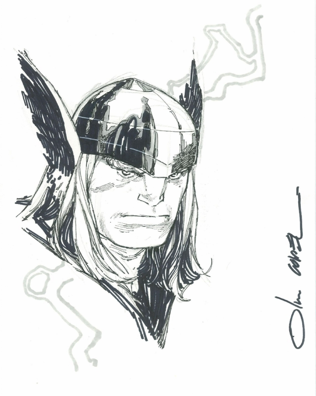 Thor by Olivier Coipel Comic Art