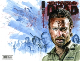 Walking Dead: Rick and more Comic Art