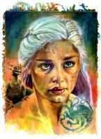 Game of Thrones: Khaleesi Comic Art