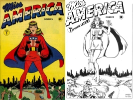 Miss America #1 - Ken Bald and Joe Rubinstein - One Minute Later Comic Art