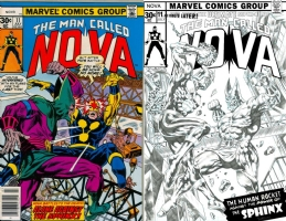 Nova #11 - Thor Mangilla - One Minute Later Comic Art