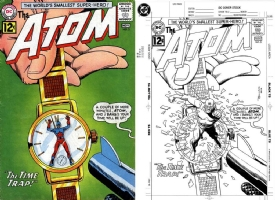 The Atom #3 - Brian Bolland - One Minute Later, Comic Art