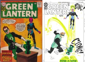 Green Lantern #9 - Dave Bullock - One Minute Later Comic Art