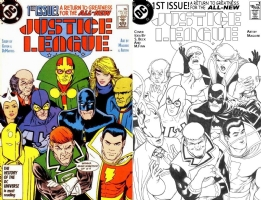 Justice League #1 - Kevin Maguire Comic Art