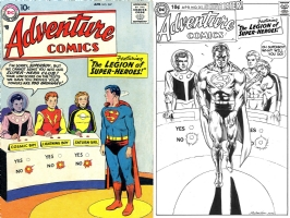 Adventure #247 - Joe Rubinstein - One Minute Later Comic Art