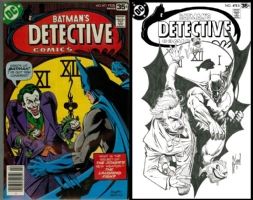 Detective Comics #475 - Guillem March - One Minute Later Comic Art