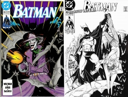 Batman #451 - George Perez - One Minute Later Comic Art