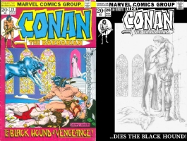 Conan #20 - Manon Delacroix - One Minute Later Comic Art