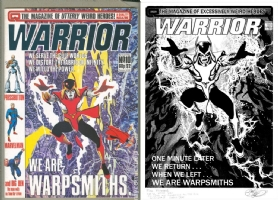 Warrior #10 - Garry Leach - One Minute Later Comic Art