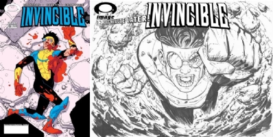 Invincible #12 - Patrick Scherberger - One Minute Later Comic Art