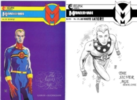 Miracleman #23 - Mark Buckingham - One Minute Later Comic Art