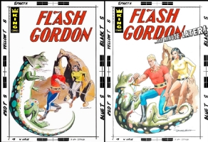 Flash Gordon - Russ Heath - One Minute Later, Comic Art