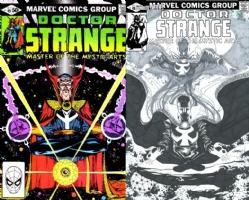 Dr. Strange #49 - Jimbo Salgado - ONE MINUTE LATER Comic Art