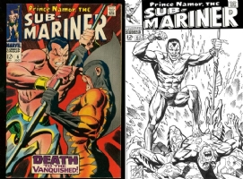 Sub-Mariner #6 - Tod Smith - One Minute Later Comic Art