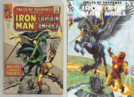 Tales of Suspense #73 - Achilleas Kakkinakos - One Minute Later Comic Art