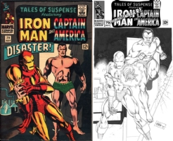 Tales of Suspense #79 - CAFU - ONE MINUTE LATER Comic Art