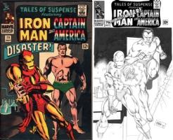 Tales of Suspense #79 - CAFU - ONE MINUTE LATER Comic Art