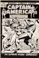 Captain America #147 - Gile Kane and Joe Sinnott, Comic Art