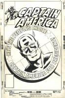 Captain America #250 - John Byrne & Joe Rubinstein - Cap for President!, Comic Art