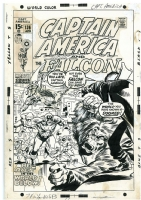Captain America #136 - John Buscema, Comic Art