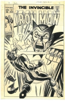 Iron Man #11 - George Tuska, Comic Art