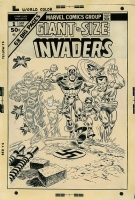 Giant-Size Invaders #1 - Robbins & Romita, Comic Art