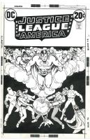 Justice League of America #107 - Nick Cardy, Comic Art