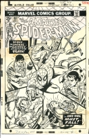 Amazing Spider-Man #140 - Gil Kane, Comic Art
