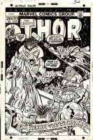 Thor #212 Cover - Gil Kane and Dan Adkins Comic Art