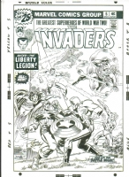 Invaders #6 - Kirby & Sinnott, Comic Art
