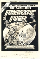 John Romita Sr. - Marvel Treasury #2 - Fantastic Four, Comic Art
