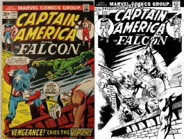 Captain America #157 - Jann Galino - One Minute Later Comic Art