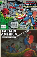 Captain America Collectors' Preview - E.M. Gist - One Minute Later Comic Art