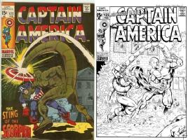 Captain America #122 - Andres Guinaldo & Bob Almond - One Minute Later Comic Art