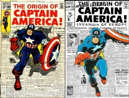 Captain America #109 - Sal Buscema & Mike Esposito - One Minute Later Comic Art