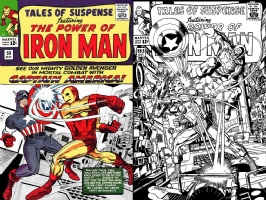 Tales of Suspense #58 George Perez!  One Minute Later, Comic Art