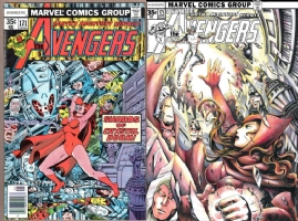 Avengers #171 - Rachta Lin - One Minute Later Comic Art