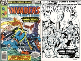 Invaders #37 - Hoberg and Taylor - One Minute Later Comic Art