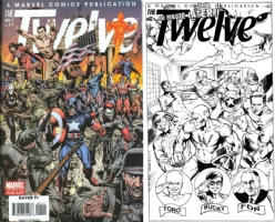 The Twelve #1 - One Minute Later - Joe Rubinstein (The Invaders) Comic Art
