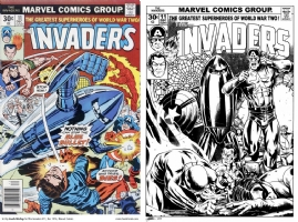 Invaders #11 - One Minute Later - David Golding Comic Art